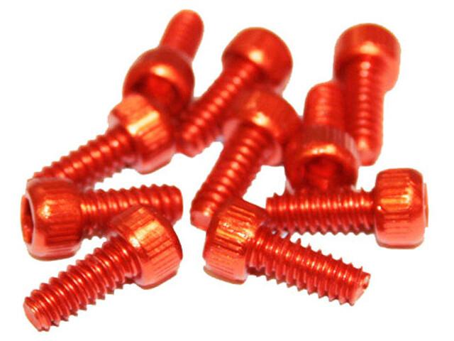 Reverse Pedal Pin Set US Size für Escape Pro+Black One 10 Stück orange